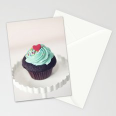 Lil' Heart Cupcake Stationery Cards