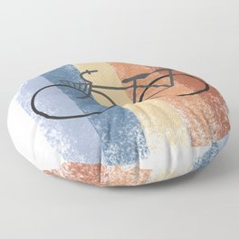 Cycling Cycling Hobby Motive Floor Pillow