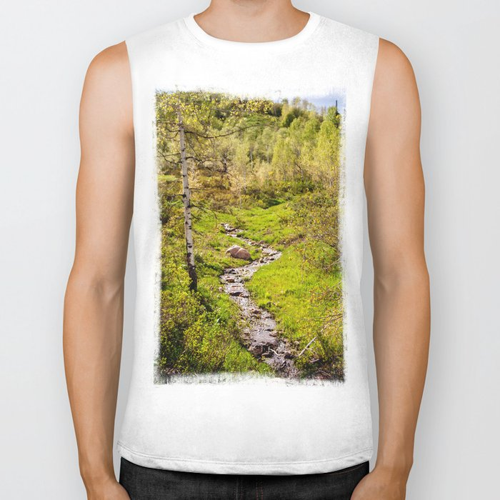 River Biker Tank