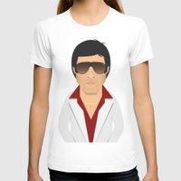 montana T-shirts featuring Tony Montana by Capitoni