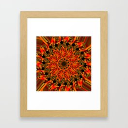MANDALA life Framed Art Print