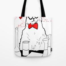 Chemistry Cat Tote Bag