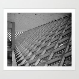 Detail of the Seattle Central Library Art Print