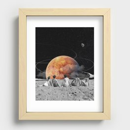 Venus Beach Recessed Framed Print
