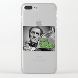"""""""Victor"""" Clear iPhone Case"""