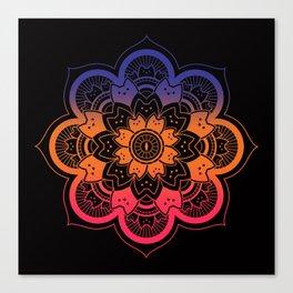 Meowndala Canvas Print