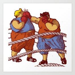 boxeur Art Print