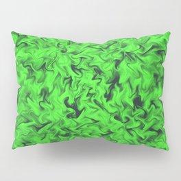 Fiery Green Pillow Sham