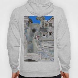 cow on the landing Hoody