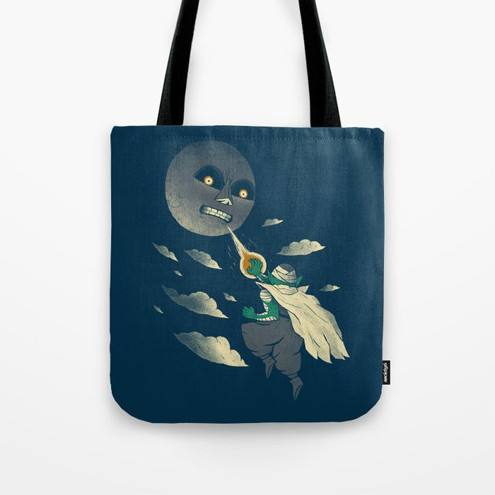 how to defeat the moon Tote Bag