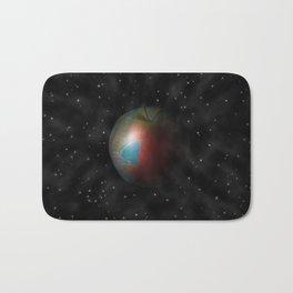Apple World Bath Mat
