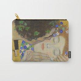 The Kiss - Closeup - Gustav Klimt Carry-All Pouch
