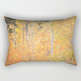 Autumn's Grand Display Rectangular Pillow