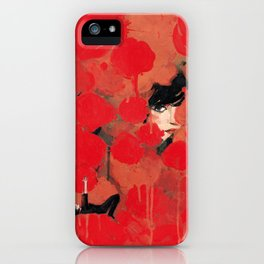 Ma rose à moi iPhone Case