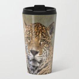 Leopard Staredown Travel Mug