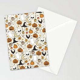 Happy Halloween Stationery Cards