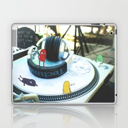 Where the heck did we just land? Laptop & iPad Skin