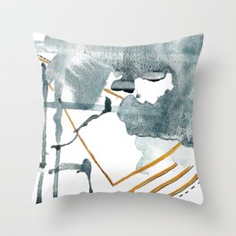 Boldness Be My Friend Throw Pillow