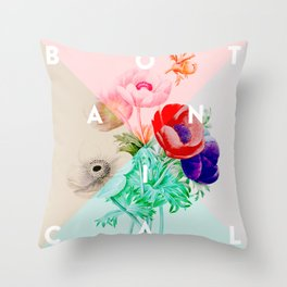 Bloomin' Beautiful Throw Pillow