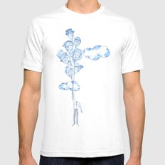A Hat for Everyday MEDIUM Mens Fitted Tee White