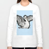 swan queen Long Sleeve T-shirts featuring Swan by MelPetrinack