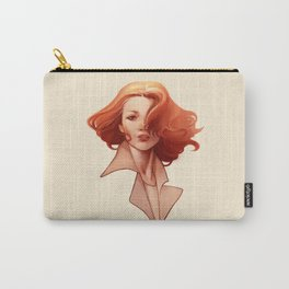 Art Deco Redhead Carry-All Pouch