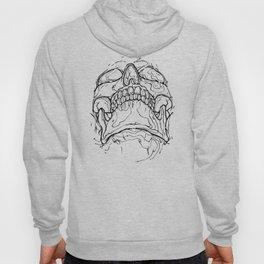 Carnibal / Ink Skull / Black Hoody
