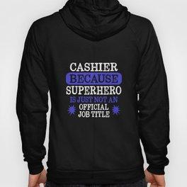 Cashier Superhero Hoody