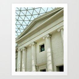 The British Museum, London Art Print