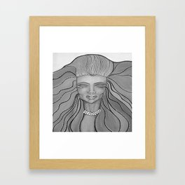 Feel The Wind Framed Art Print