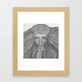 Feel The Wind Framed Art Print