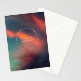 Kiss The Sky II Stationery Cards