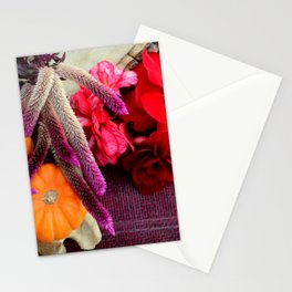 Bloody, Creepy, October-feast For The Eyes Stationery Cards