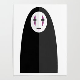 Spirited Away's No Face Poster