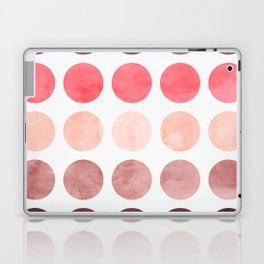 Colorful watercolor circles II Laptop & iPad Skin