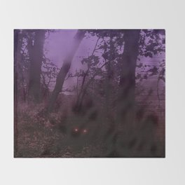 There's Something Out There Throw Blanket