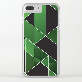 Smaragd Clear iPhone Case