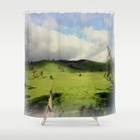 victorian Shower Curtains featuring Victorian Highlands by Chris' Landscape Images & Designs