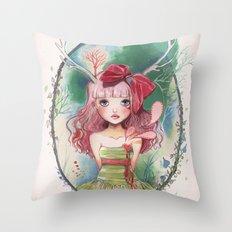 Jolie toi Throw Pillow