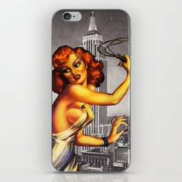 They call it Stormy Monday iPhone Skin