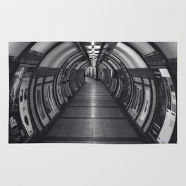 Embankment Underground Train Station, London Rug