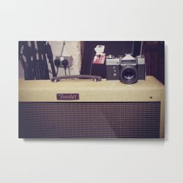 Music/Photography Metal Print