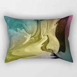 Liquid Abstract Rectangular Pillow