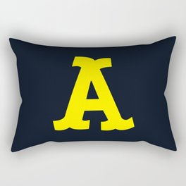 Big Letter Rectangular Pillow