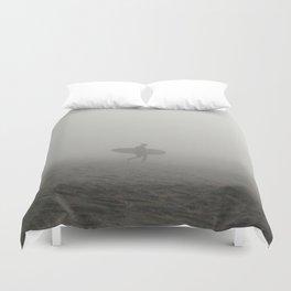 Solo Surfer Duvet Cover