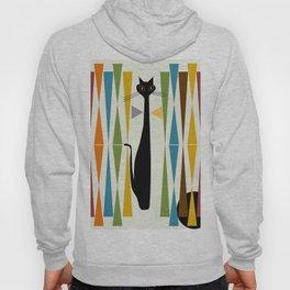 Mid-Century Modern Art Cat 2 Hoody