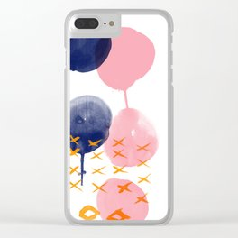 Melting Pot 2 Clear iPhone Case