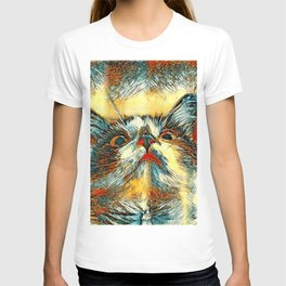 AnimalArt_Cat_20170914_by_JAMColorsSpecial T-shirt