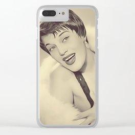 Kaye Ballard, Vintage Entertainer Clear iPhone Case