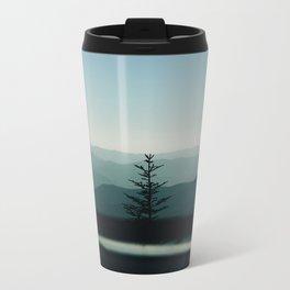 One lonely tree Metal Travel Mug